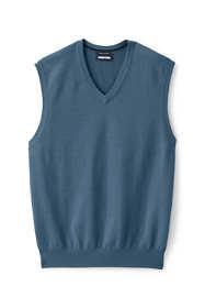 Men's Tall Fine Gauge Supima Cotton Sweater Vest