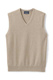 Men's Tall Fine Gauge Supima Cotton Sweater Vest
