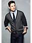 Men's Regular Fine Gauge Jacquard V-neck Cardigan