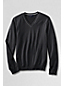 Men's Regular Fine Gauge Tipped V-neck Sweater