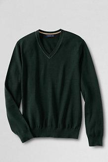 Supima-Pullover mit V-Ausschnitt