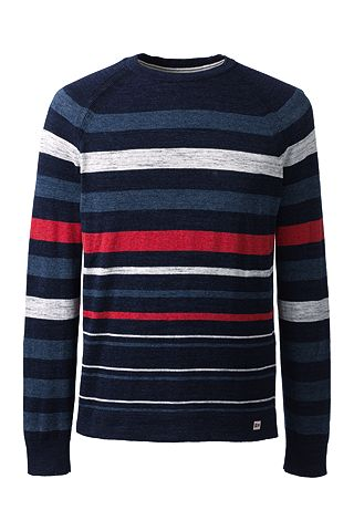 Mariner Stripe Tee Sweater 461576: Classic Navy