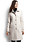 Women's Regular Basket-weave Wool Blend Car Coat