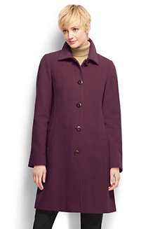Women's Regular Luxe Wool Car Coat