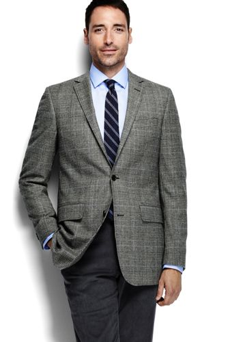 Men's Regular Abraham Moon Tweed Blazer