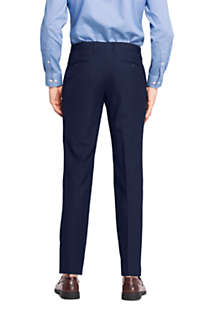 Men's Slim Fit Year'rounder Wool Dress Pants, Back