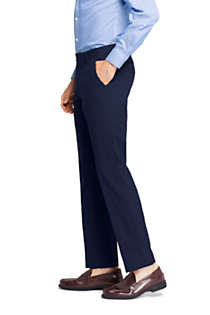 Men's Slim Fit Year'rounder Wool Dress Pants, alternative image