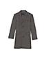 Men's Regular Abraham Moon Wool Tweed Peak Lapel Topcoat