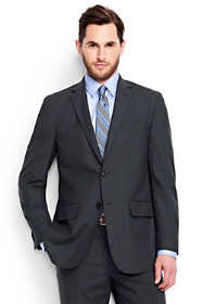 Men's Short Traditional Fit Wool Year'rounder Suit Jacket