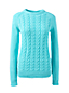 Women's Regular Drifter™ Cable Crew Neck Jumper