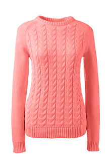 Women's Drifter™ Cable Crew Neck Jumper