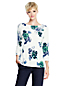 Women's Regular Fine Gauge Supima® Floral Print Crew Neck
