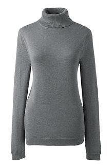 Women's Supima Long Sleeve Roll Neck