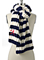 Women's Striped Rib Scarf