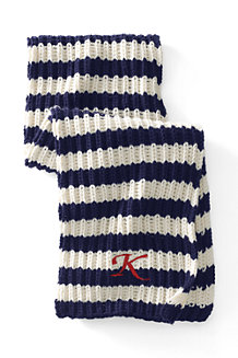 Women's Striped Rib Scarf