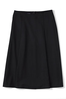 Women's Woven Panelled Midi Skirt