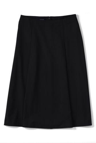La Jupe en Twill Chic Femme, Taille Standard