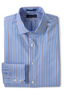 Men's Patterned Tailored Fit Easy-iron Royal Oxford Shirt