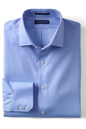 Men's Regular Tailored Fit Easy-iron Royal Oxford Shirt