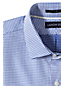 Men's Regular Tailored Fit Easy-iron Spread Collar Royal Star Shirt
