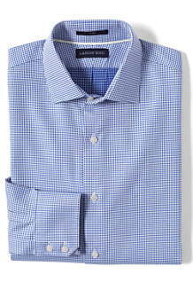 Men's Tailored Fit Easy-iron Spread Collar Royal Star Shirt
