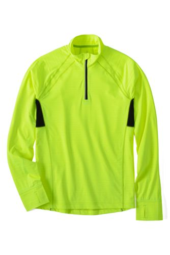 Men's Regular Active Half-zip Running Top