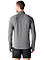 Activewear Zipper-Laufshirt mit Kontrast-Einsätzen
