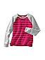 Little Girls' Long Sleeve Stripe French Terry Sweatshirt