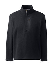 Men's Sweater Fleece Half-zip Pullover