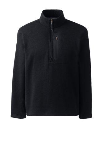 Le Pullover en Polaire Demi-Zip Homme, Taille Standard