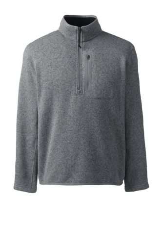 Men's Regular Sweater Fleece Half-zip Pullover