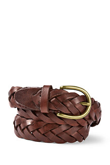 Men's Plaited Leather Belt
