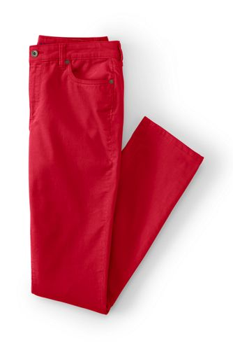 Women' Regular Mid Rise Cord Slim Leg Trousers