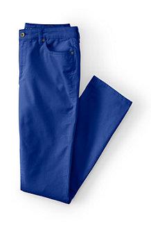 Le Pantalon Velours Taille mi-haute Coupe Jambes Slim Femme