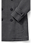 Men's Regular Herringbone Wool Blend Pea Coat