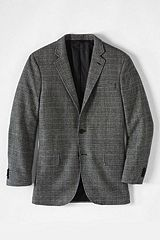 Abraham Moon Wool Sportcoat 460707: Gray Prince of Wales