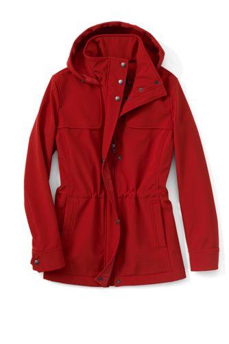 Women's Regular Softshell Hooded Jacket