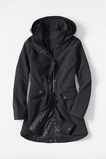 Women's Softshell Hooded Coat