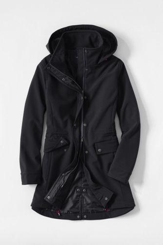 Women's Regular Softshell Hooded Coat