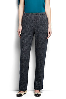 Women's  Jacquard Sport Knit Trousers