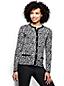 Le Cardigan Fine Maille Supima® Jacquard Léger À motifs Femme, Taille Standard