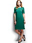 Women's Regular Jacquard Straight Shift Dress