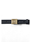 Women's Square Buckle Leather Belt