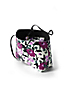 Women's Reversible Print Tote Bag with Zip-top Pouch