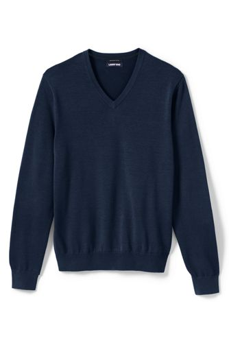 Men's Fine Gauge Cotton Jumper
