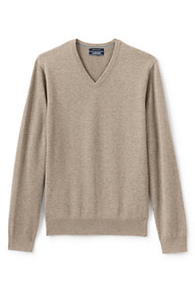 Le Pull Supima® Col V, Homme