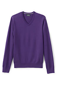 Men's Purple Sweaters | Lands' End