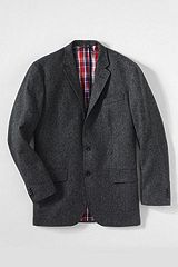 Abraham Moon Tweed Sportcoat 461090: Charcoal Donegal