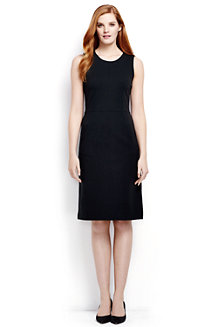 Women's Welt Pocket Plain Shift Dress