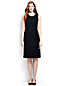 Women's Regular Welt Pocket Plain Shift Dress
